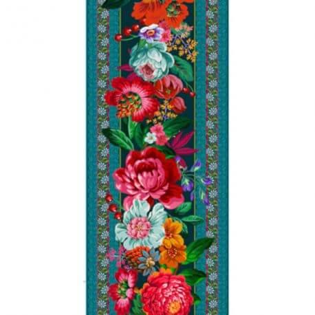 Bande de Velours Odile Bailloeul Istambul Bleu - 50 cm