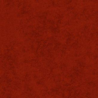 Tissu patchwork grande largeur faux-uni effet suédé rouge