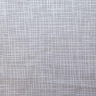 Tissu imprimé gris nimbus hachuré