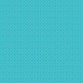 Tissu patchwork gouttes bleu des mers du sud - Hello Sunshine