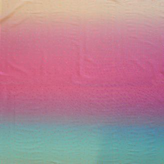 "Tissu patchwork dégradé rose turquoise ""Flamant rose"" - Gemstones"