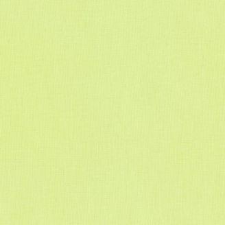 Tissu patchwork uni de Kona vert - Poire d'été (Summer Pear)
