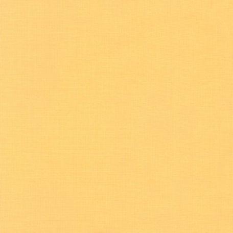 Tissu patchwork uni de Kona jaune - Banane (Banana)