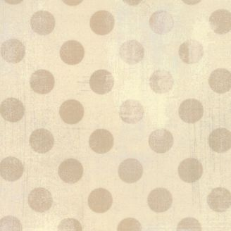 Tissu patchwork à pois écru Abaca - Grunge Hits the Spot de Moda