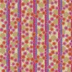 Tissu patchwork frises florales Oasis fuchsia - Kismet de Valori Wells