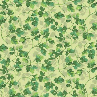 Tissu patchwork persil vert - Veggies de Martha Negley