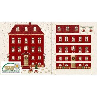 Calendrier de l'Avent Maison rouge - Magic Christmas