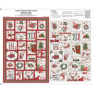 Calendrier de l'Avent décorations de Noël - Magic Christmas