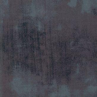 Tissu patchwork grande largeur faux-uni patiné gris Cordite - Grunge de Moda