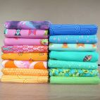 15 fat quarters de tissus Tula Pink Summer