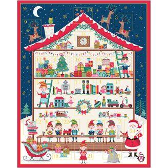 Calendrier de l'Avent Chalet du père Noël - Let it Snow