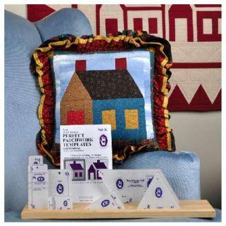 Grande maison Set K - Gabarits pour patchwork de Marti Michell