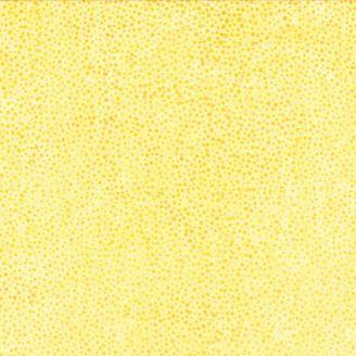 Tissu batik jaune Soleil pétillant