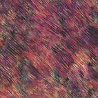 Tissu batik à stries multico prune Automne