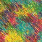 Tissu batik à stries multicolores