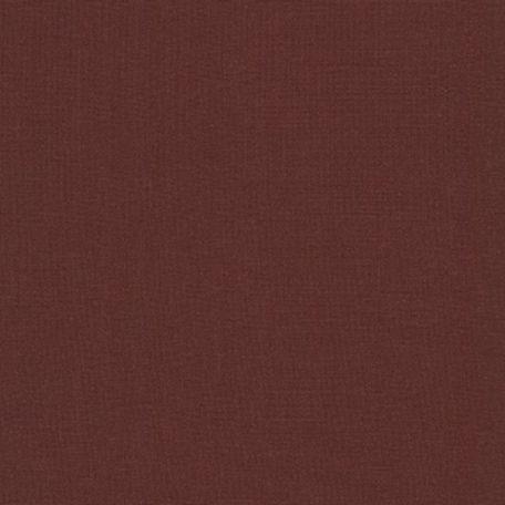 Tissu patchwork uni de Kona marron - Acajou (Mahogany)