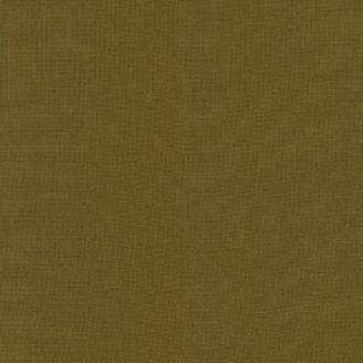 Tissu patchwork uni de Kona vert - Mousse (Moss)