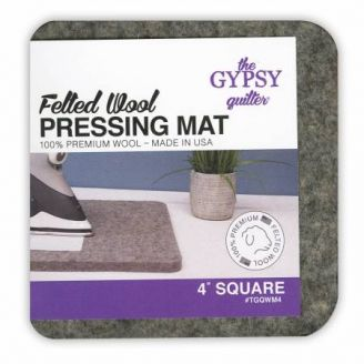 Tapis à repasser en feutre de laine 10 x 10 cm