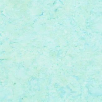 Tissu batik faux-uni bleu surf