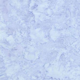 Tissu batik marbré bleu glacier