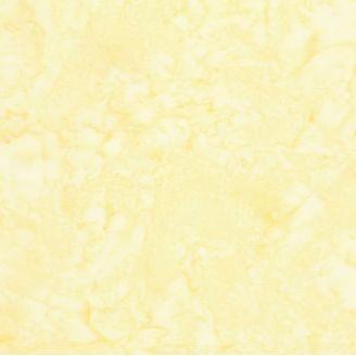 Tissu batik marbré jaune paix