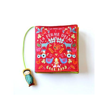 La ferme d'Elio, livre textile pour enfant - Kit de couture