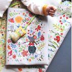Protège-carnet de santé gris - Kit de couture