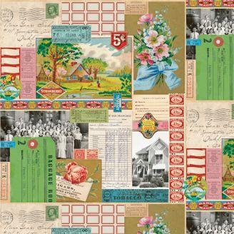 Tissu patchwork pêle-mêle vintage - Flea Market Mix