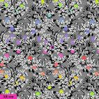 Tissu patchwork Tula Pink lémuriens dans l'arbre TP154 - Linework