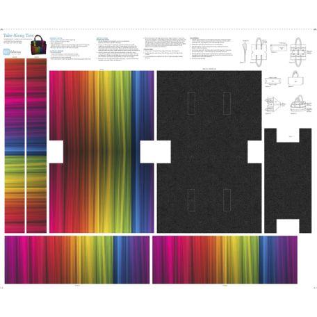 Tissu patchwork panneaux pour faire un sac - SEW AND GO