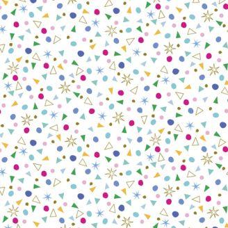 Tissu patchwork formes géométriques - Kitty Cats