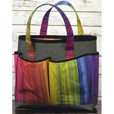 Panneau de tissu patchwork pour faire un sac Tote-along - Sew and go
