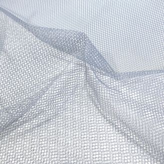 Tissu filet (mesh) Gris clair