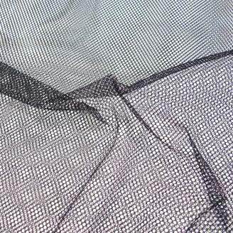 Tissu filet (mesh) Noir
