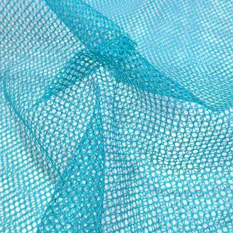 Tissu filet (mesh) Bleu canard