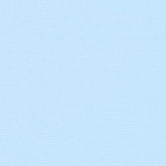 Tissu patchwork uni de Kona bleu - Nuage (Cloud)