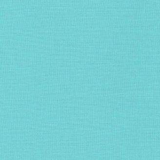 Tissu patchwork uni de Kona bleu - Cascade (Waterfall)