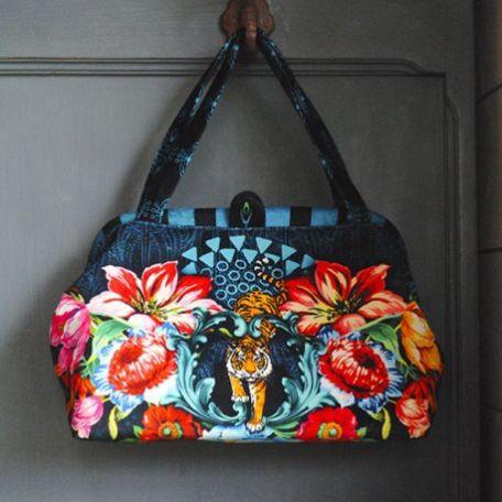 Sac clic-clac Bengale - kit de couture
