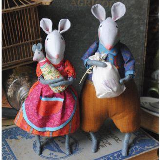 Souris du grenier - Kit de couture