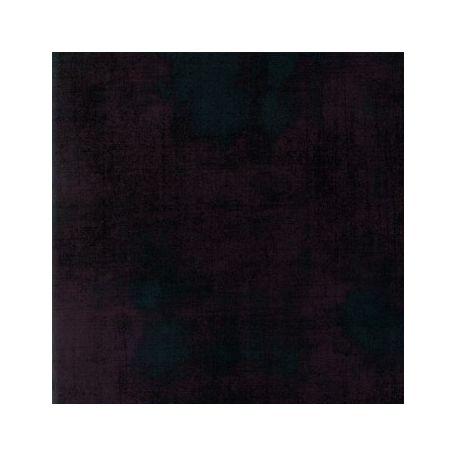 Tissu patchwork faux-uni noir Maven Onyx - Grunge de Moda