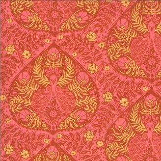 Tissu patchwork imprimé paon motif cachemire - Kasada
