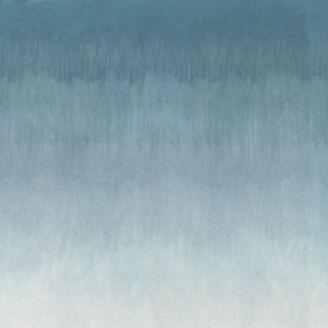 Tissu patchwork imprimé dégradé de bleu ciel - The Blues