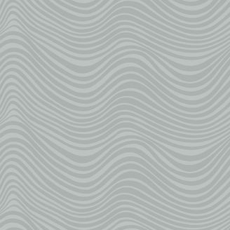 Tissu patchwork vagues gris fumée - Stealth