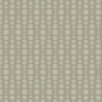 Tissu patchwork bulles beige kaki - Stealth