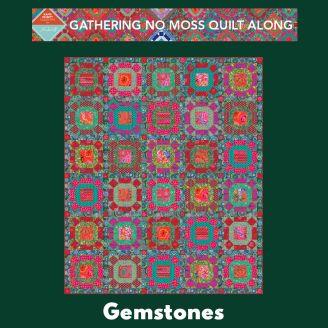 Quilt Along Gathering No Moss - Gemstones