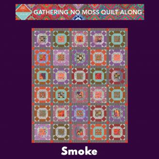Quilt Along Gathering No Moss - Smoke
