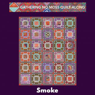 Quilt Along Gathering No Moss - Smoke