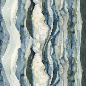 Tissu patchwork Shell Rummel vague océan - Time and Tide