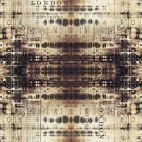 Tissu patchwork Tim Holtz distorsion temporelle - Abandonned