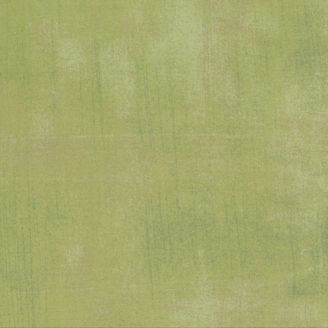 Tissu patchwork faux-uni patiné vert menthe - Grunge de Moda